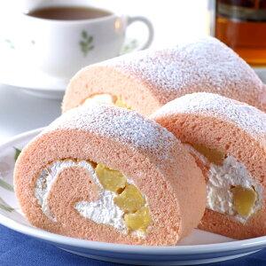 放し飼い地鶏の有精卵で作った贅沢な白桃ロールケーキ「モモタロール」