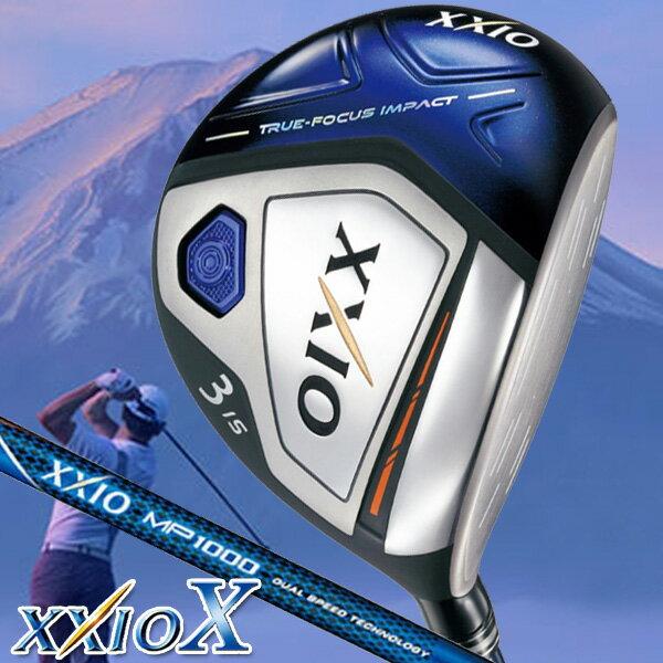 《あす楽》ダンロップ ゼクシオ(XXIO)10 MP1000 ウッド4本+アイアン7本セット