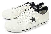 converse(コンバース) ONE STAR J(ワンスター J) ホワイト/ブラック