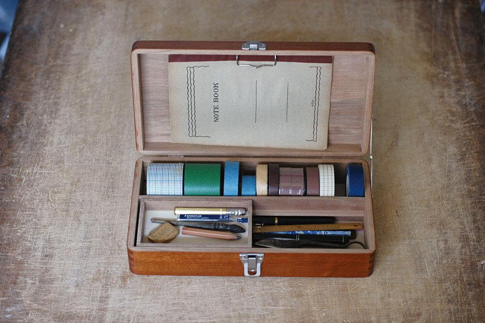 倉敷意匠計画室 お道具箱 (木製収納箱)【裁縫箱/ソーイングボックス】