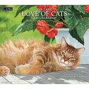 2016年 LANG社(ラング)カレンダー  ラブ オブ キャッツ (Love Of Cats)