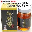 日本ミツバチの対馬産天然はちみつ600g【純粋はちみつ】【化粧箱入り】【お歳暮】
