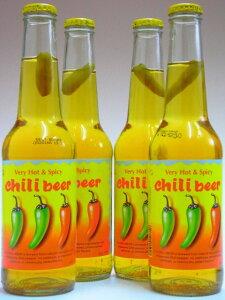チリビール(唐がらし入り) 4.5% 330ml×4本組 【メキシコ】【ビール】
