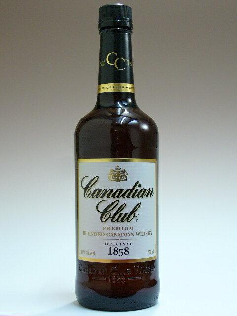 カナディアンクラブ6年 白ラベル 40度 700ml 正規輸入品