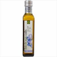 有機JAS認定 アマニオイル 229g biologicoils【イタリア産 東京セントラルトレーディング 亜麻仁油 あまに油 アマニ油】