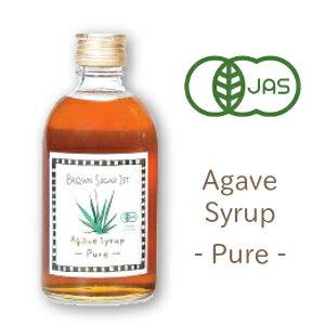 ブラウンシュガー ファースト 有機アガベシロップ PURE(ピュア) 425g [Brown Sugar 1st]【有機JAS 低GI オーガニック 甘味料】