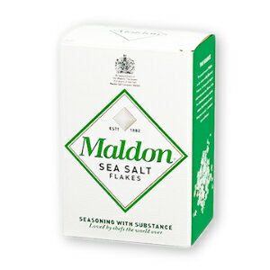 マルドン シーソルト 125g 【塩 海塩 食塩 ソルト マルドンの塩】《あす楽》