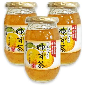 正栄食品 はちみつ入りゆず茶 415g × 3個 【ゆず茶 柚子茶 ゆず はちみつ ハチミツ 正栄】《あす楽》