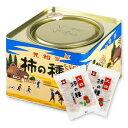 浪花屋製菓 大粒柿の種 進物缶 20g×12袋 【ピーナッツなし G10 つまみ お酒のおつまみ