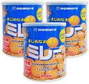 野村煎豆加工店 保存用ミレービスケット 200g × 3缶 ...