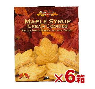 テロワール メープル・クッキー 350g ×6箱【クッキー カナダ お土産 カエデ メープルシロップ クリームサンド 】《あす楽》