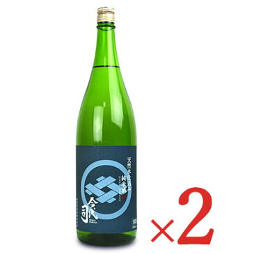 《送料無料》今代司酒造 天然水仕込み 純米酒 1800ml × 2個《あす楽》