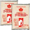 《送料無料》 メープルシュガー パウダー 1kg × 2袋 [MFJ]【天然甘味料 砂糖 製菓