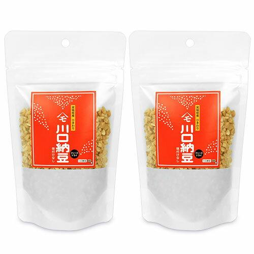 《メール便選択可》 川口納豆 乾燥納豆 (スタンドパック) 65g × 2袋《あす楽》