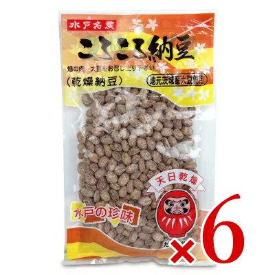 だるま食品 水戸名産 ころころ納豆 120g × 6個《あす楽》