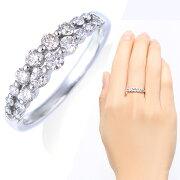 ポイント プラチナダイヤモンドリング ダイヤモンド