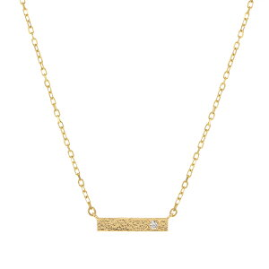 【SALE】 K10イエローゴールドダイヤモンドネックレス