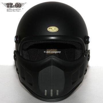 マッドマッスクJ01マスク付ジェットヘルメットSG規格