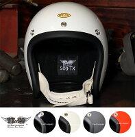 装飾用ヘルメット500-TXダブルストラップ仕様アイボリーレザースモールジェットヘルメットXS,S,ML,XLXXL