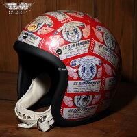 装飾用ヘルメット500-TXクリアシェルTTデカール01スモールジェットヘルメットXS,S,ML,XLXXL