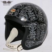 装飾用ヘルメット500-TXクリアシェルTTデカール02スモールジェットヘルメットXS,S,ML,XLXXL
