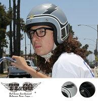 スーパーマグナムディストーションボルトスモールジェットヘルメットSG/DOT規格