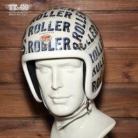 装飾用ヘルメット500-TXクリアシェルROLLERxTT&CO.スモールジェットヘルメットXS,S,ML,XLXXL