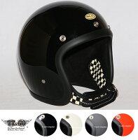 装飾用ヘルメット500-TXダブルストラップ仕様ブラックチェッカースモールジェットヘルメットXS,S,ML,XLXXL