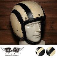 装飾用ヘルメット500-TXホールレザースキャロップスモールジェットヘルメットXS,S,ML,XLXXL