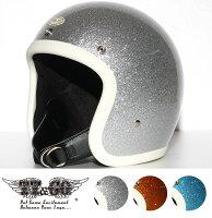 装飾用ヘルメット500-TXスモールジェットヘルメットギンギラセブンティーズアイボリーラバートリムXS,S,ML,XLXXL
