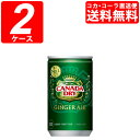 【2ケースセット】カナダドライジンジャーエール 160ml缶 (1ケース×30本)