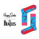 ハッピーソックス 靴下 Happy Socks ビートルズ BEATLES コラボくつ下 ソックス  ...