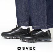 スニーカーメンズエアソールオックスフォードスニーカー男性の厚底ダッドスニーカーコンフォートシューズ革靴カジュアルおしゃれ黒ブラック靴メンズシューズシューズ男性用紳士靴靴2019春夏