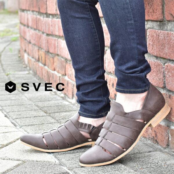 メンズ靴, スリッポン  SVEC 2021