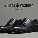 MIHARAYASUHIROミハラヤスヒロ本革ビジネスシューズメンズ黒ブラック