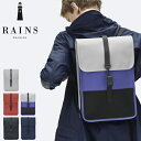 RAINS レインズ 防水 バッグ リュック メンズ レディース ブラ...