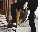 スニーカー メンズ ローカット Q18 ブラック 黒 ブラウ...