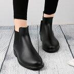 レインシューズ ショートブーツ レインブーツx ショートブーツ サイドゴアブーツ NXL0128 ブラック 黒 ダークブラウン 茶色 長靴 雨用 雨靴 婦人靴 ラウンドトゥ プレーントゥ カジュアルシューズ 韓国 可愛い かわいい ファッション おしゃれ 新生活 2019 春 夏