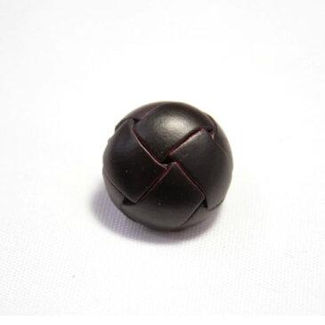 本革ボタンLZ-100 15mm(color.04ダークブラウン) コート対応ボタン,スーツ袖ボタン