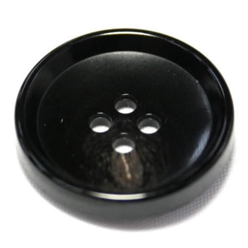 PV6 23mm (color.49 ブラック) コート対応ボタン