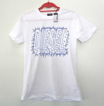 メンズ ディーゼル プリント Tシャツ ホワイト L