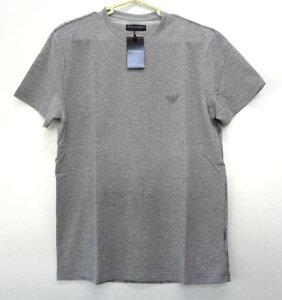 メンズ エンポリオ アルマーニ バックプリント Tシャツ グレー M