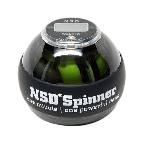NSDスピナー PB-688AC ブラック オートスタート型 カウンター搭載 日本正規代理店商品 手首の運動 NSD Spinner