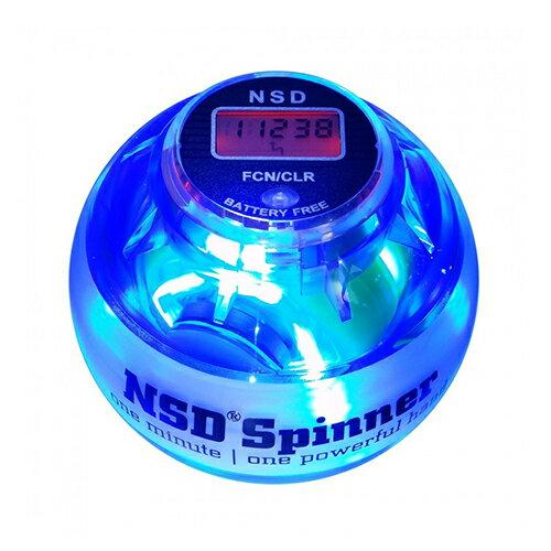 NSDスピナー PB-688LC ブルー LED発光タイプ(ブルー色) カウンター搭載 日本正規代理店商品 手首の運動 NSD Spinner