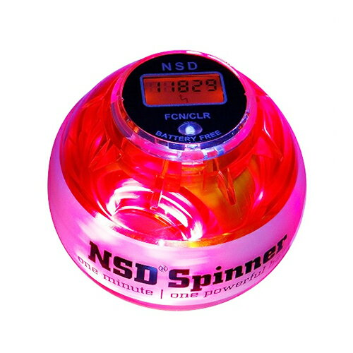 NSDスピナー PB-688LC アンバー LED発光タイプ(アンバー色) カウンター搭載 日本正規代理店商品 手首の運動 NSD Spinner