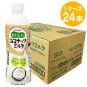 【1ケース】 ブルボン おいしいココナッツミルク PET 480ml×24本