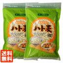 【2個セット・送料無料】OSK ハト麦 (生) 500g×2個 精選皮除り やく膳食品 コンパクト便