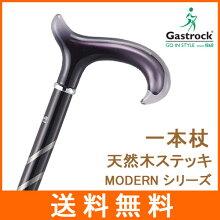 杖 ステッキ 高級 一本杖 天然木 ストレート杖 【送料無料】 ドイツ ガストロック社