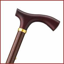 杖 ステッキ 折りたたみ おしゃれ 折りたたみ 長さ調節可 アルミ製 色 メタリック ブラウン ホスピア 愛杖 Eシリーズ