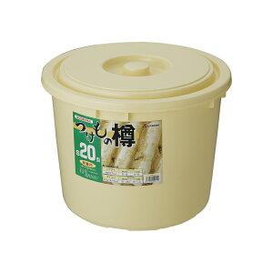 つけもの樽(20L)S-20[1斗用・リス製・お漬物作り用・味噌作り用・お漬物容器]02P06May15